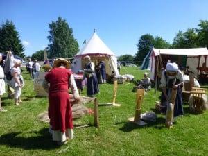 LINjentene på Hamar Middelalderfestval 2014