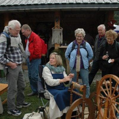 Linforeningen på Dursku'n i Seljord 2011
