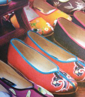 Kina, Broderte sko