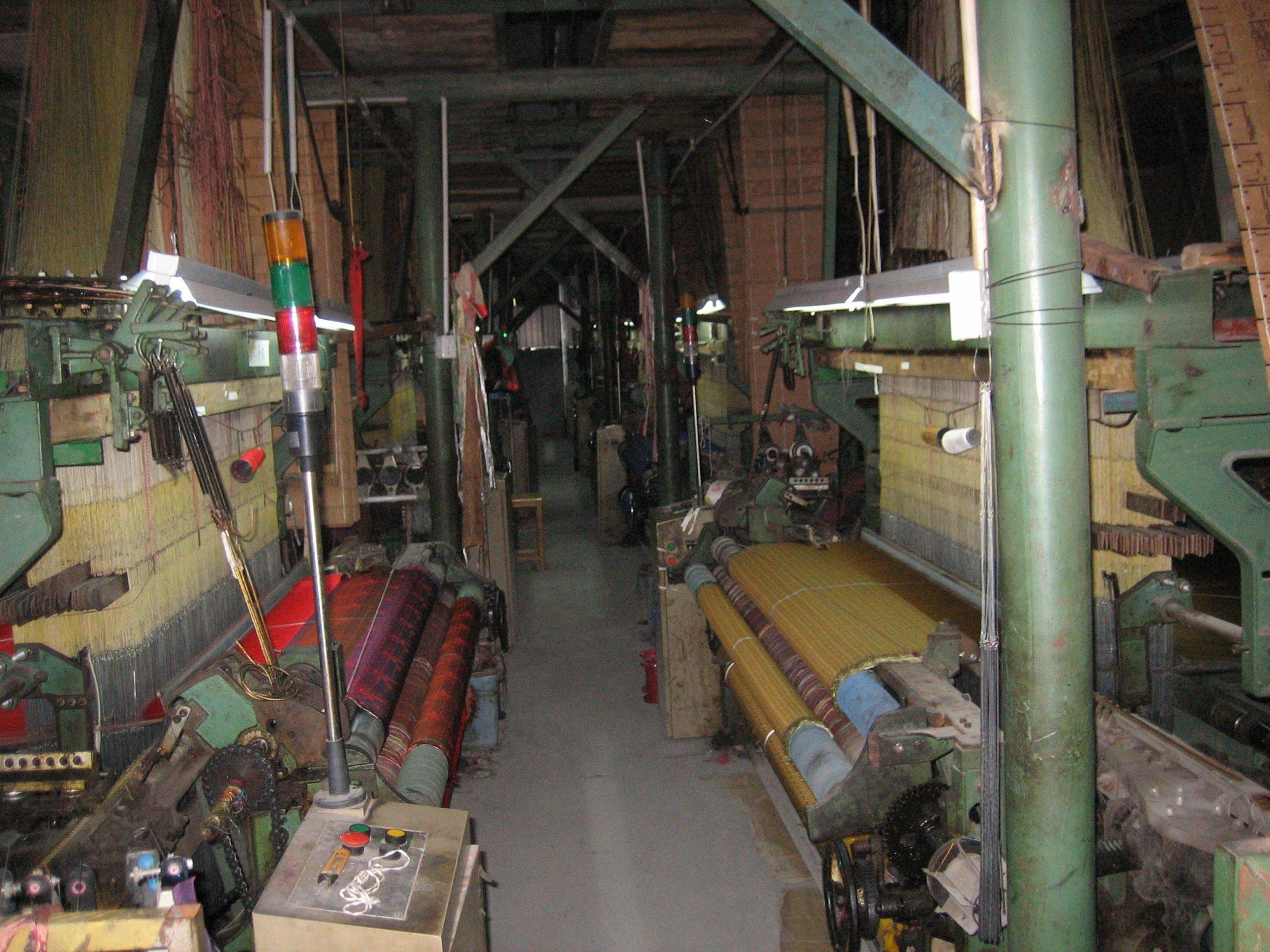 Kina, silkefabrikk
