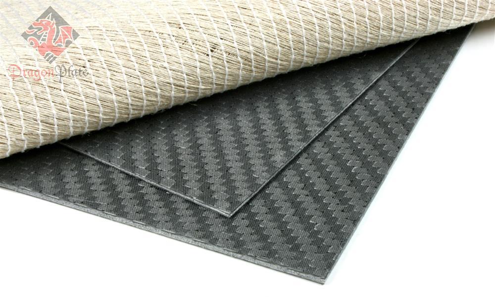Carbon Fiber Flax Linen Core Sheets